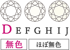 DEFGHJ-無色・ほぼ無色