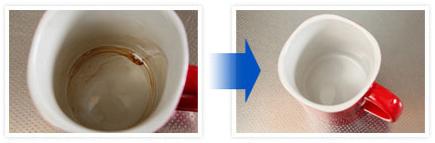 カップの茶渋