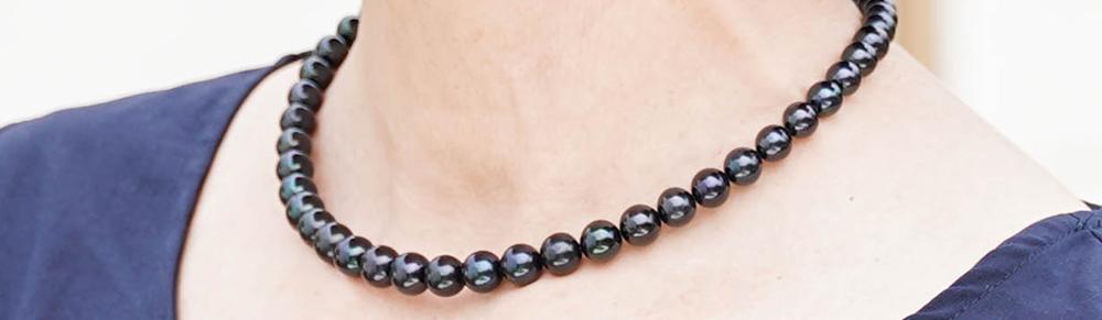 池蝶黒真珠「 彩虹珠」グラデーションタイプの魅力